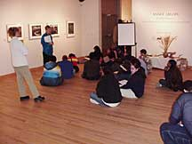 student program in the gallery
