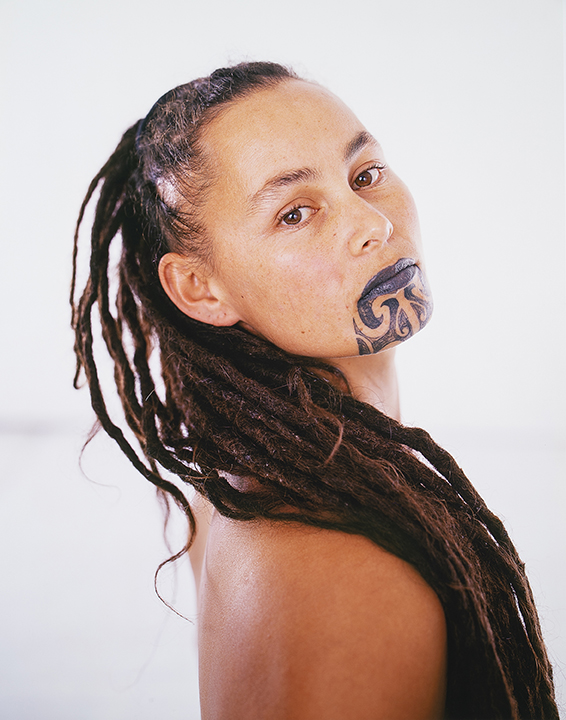 Photograph by Hans Neleman from the book Moko – Maori Tattoo
